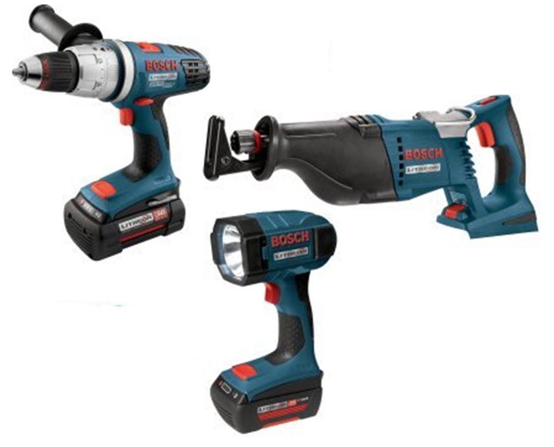 Bosch CPK30-36 3-Piece 36V Lithium-Ion Cordless Combo Kit BOSCPK30-36