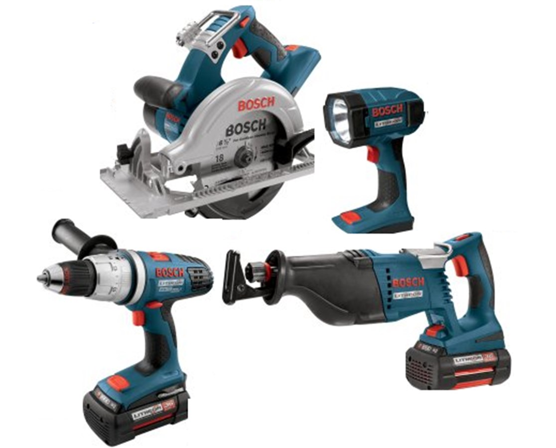 Bosch CPK40-36 4-Piece 36V Lithium-Ion Cordless Combo Kit BOSCPK40-36