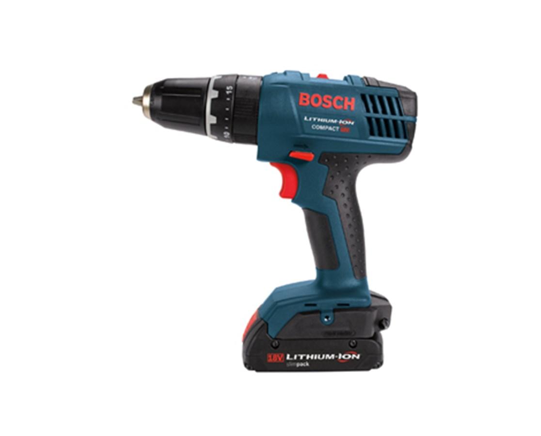 "Bosch DDB180-02 18V Compact 3/8"" Cordless Drill/Driver BOSDDB180-02"