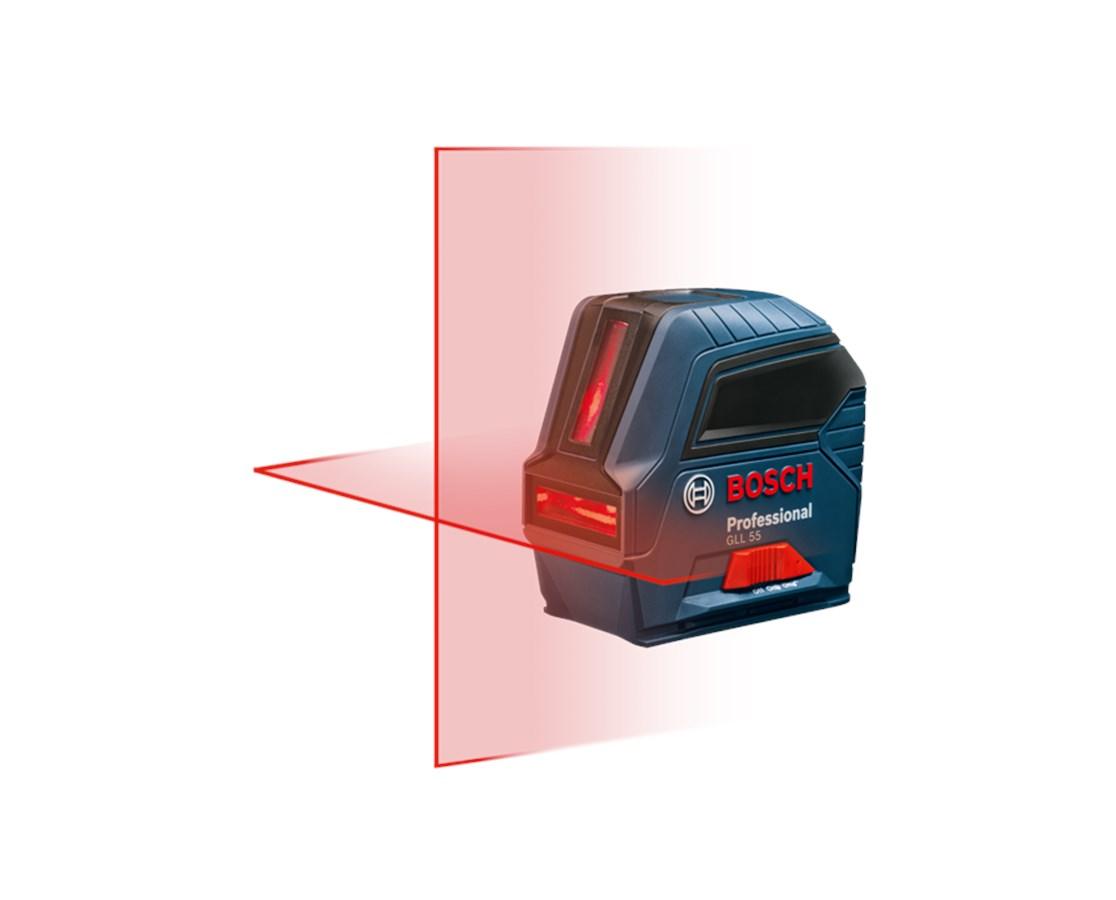 Bosch GLL 55 Self-Leveling Cross Line Laser BOSGLL-55