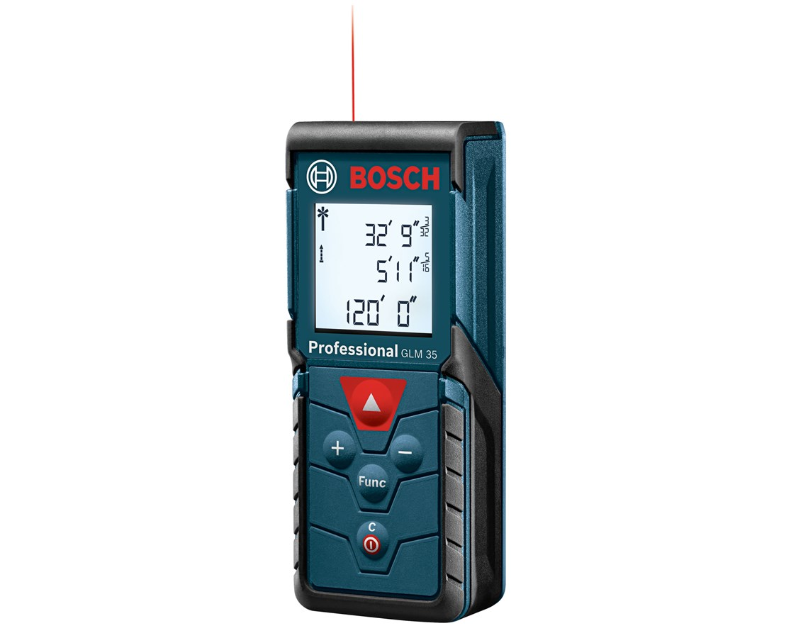 bosch glm 35 120 39 laser distance meter tiger supplies. Black Bedroom Furniture Sets. Home Design Ideas