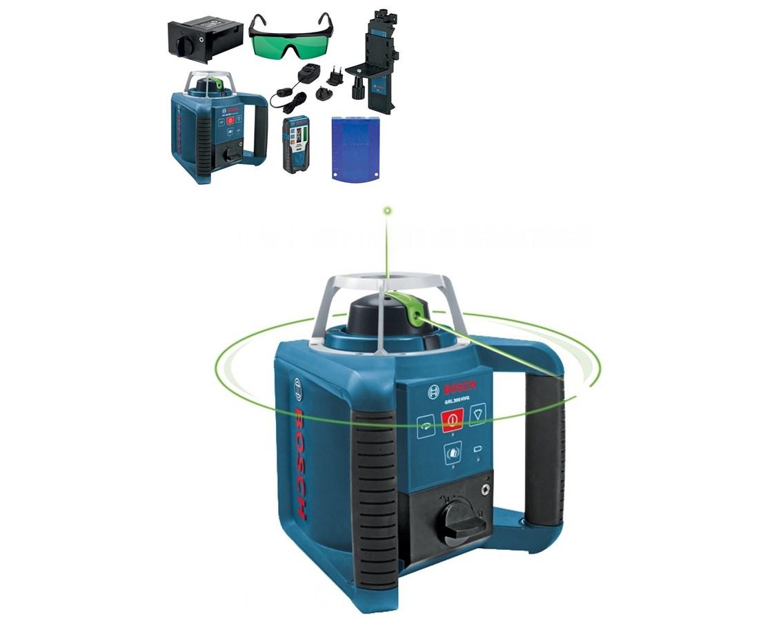 Bosch GRL300HVG Rotary Green Laser with Layout Beam GRL300HVG