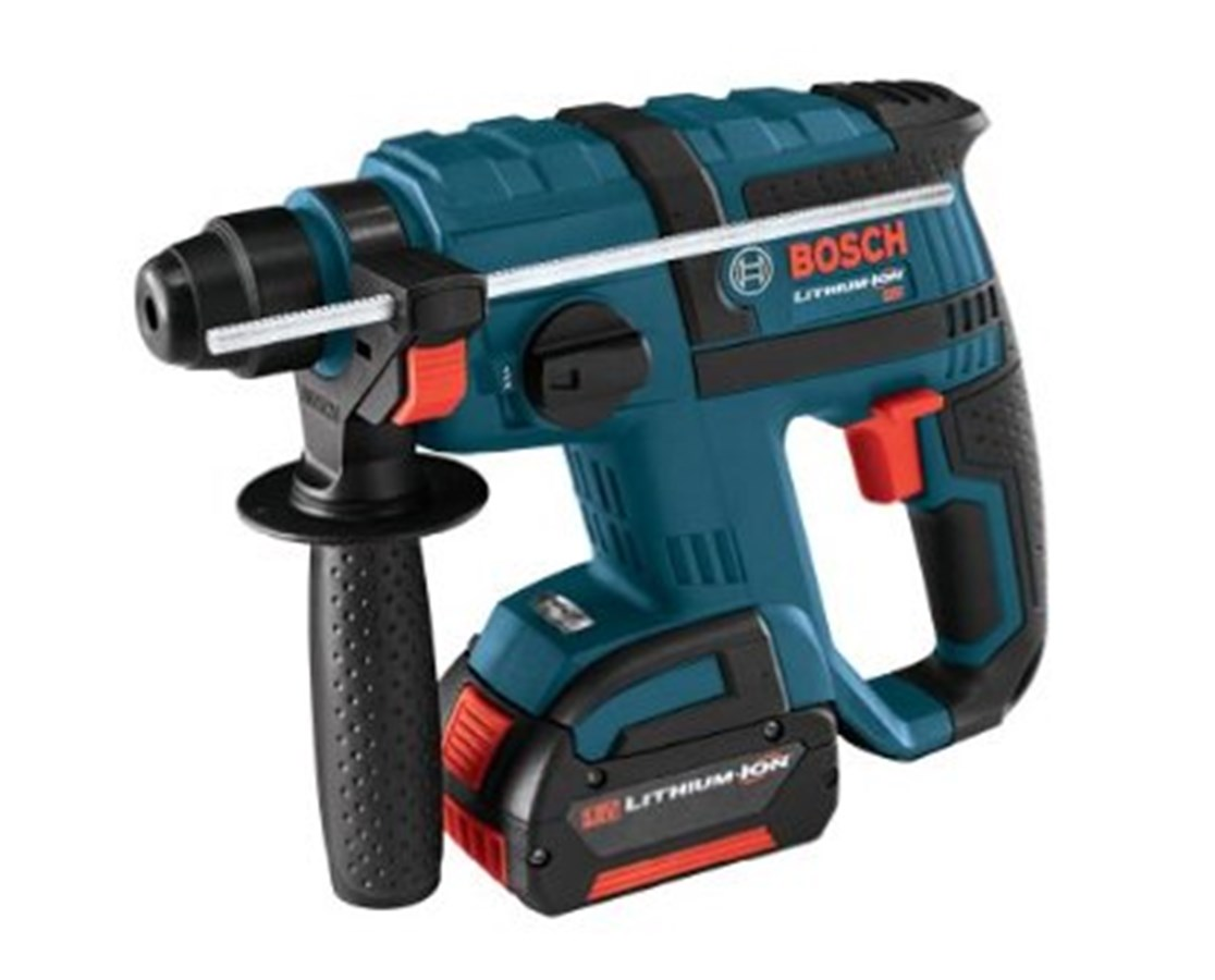bosch rhh180 01 18v sds plus li ion rotary hammer kit tiger supplies. Black Bedroom Furniture Sets. Home Design Ideas