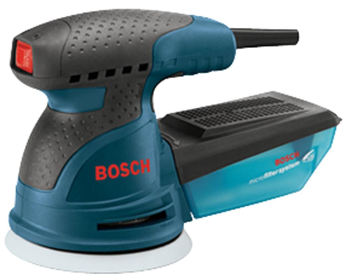 """Bosch ROS20VSK 5"""" Variable Speed Palm-Grip Random Orbit Sander Kit BOSROS20VSK"""