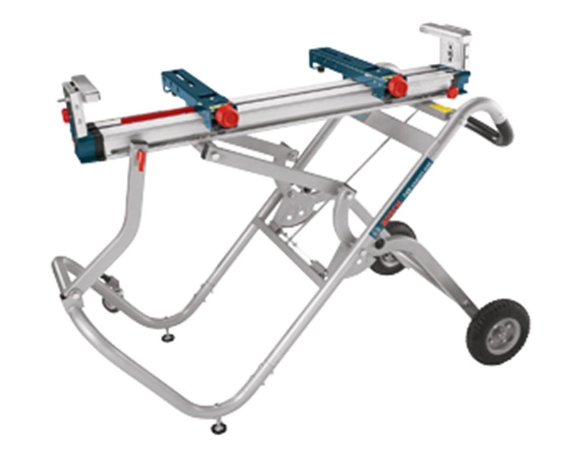 Bosch T4B Gravity-Rise Wheeled Miter Saw Stand BOST4B