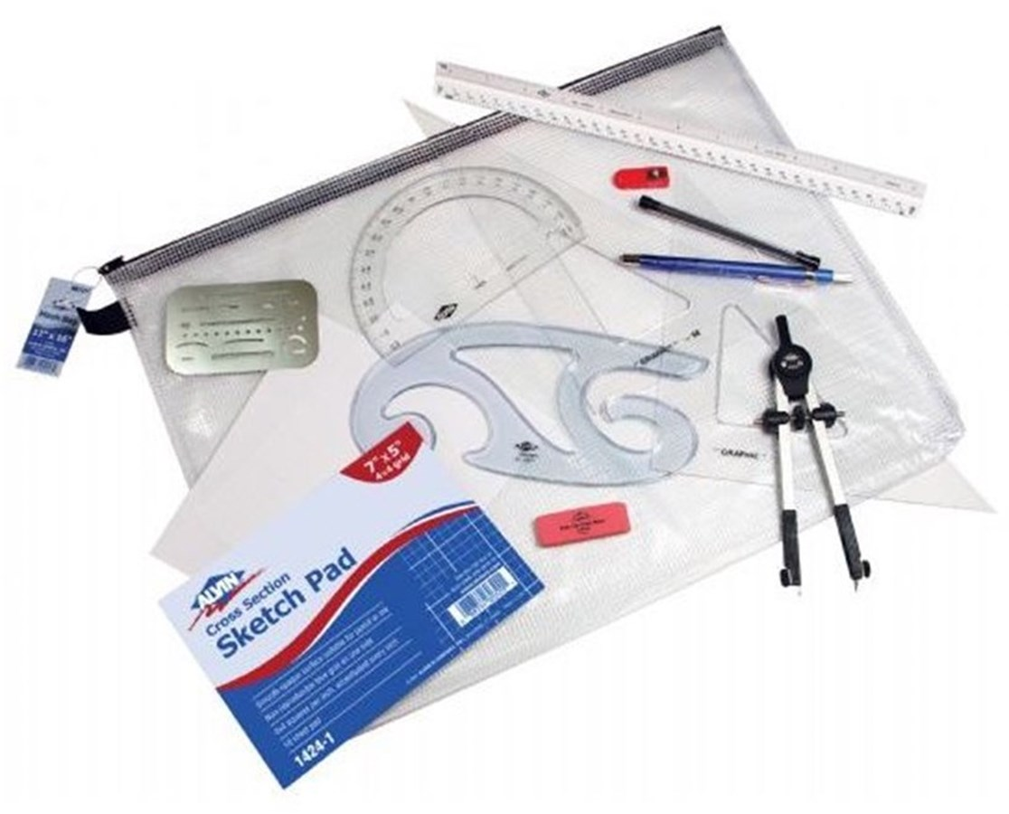 Technical Grade Blueprint Architects Kit BRK-1A