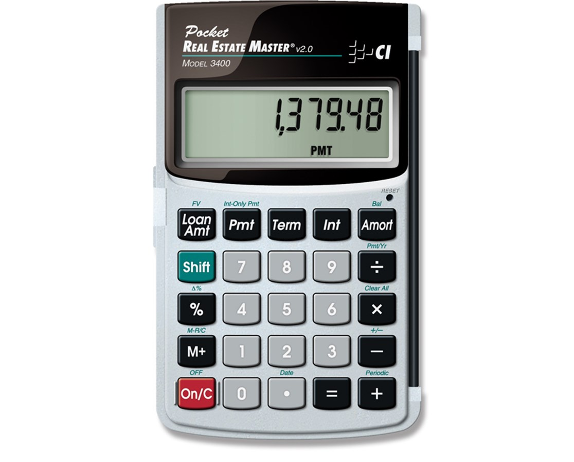 Calculated Industries Pocket Real Estate Master 3400
