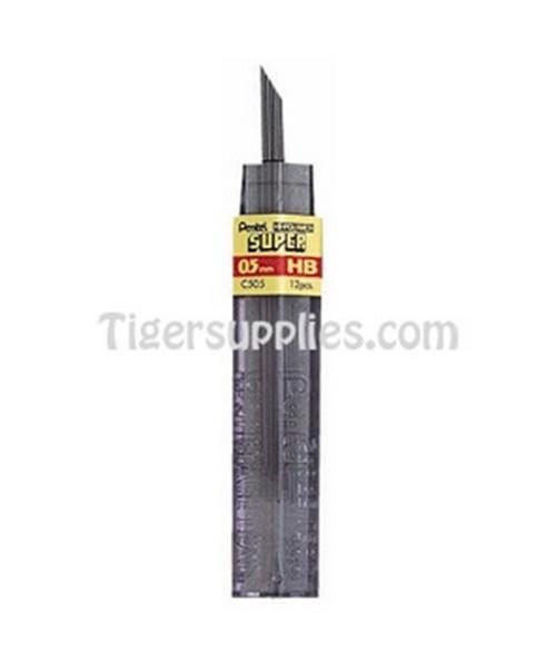 REFILL LEADS 0.5 MM 12/TU C505-6H