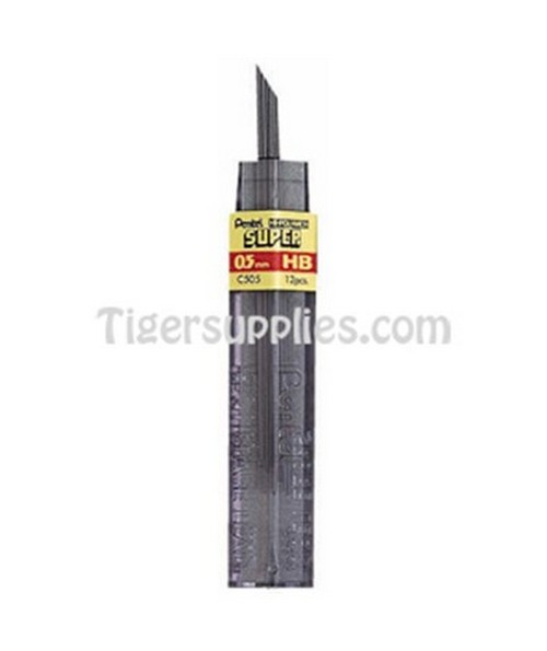 REFILL LEADS 0.5 MM 12/TU C505-HB