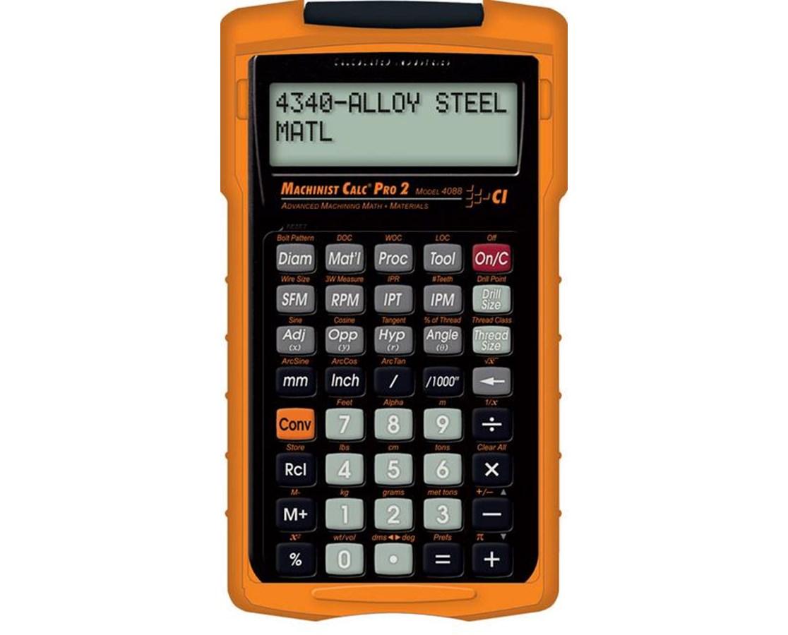 Machinist Calc Pro 2 CAI4088