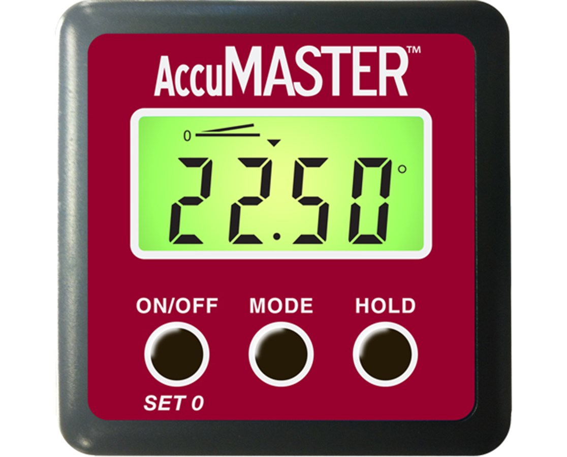 Calculated Industries AccuMASTER 2-in-1 Digital Angle Gauge CAL7434