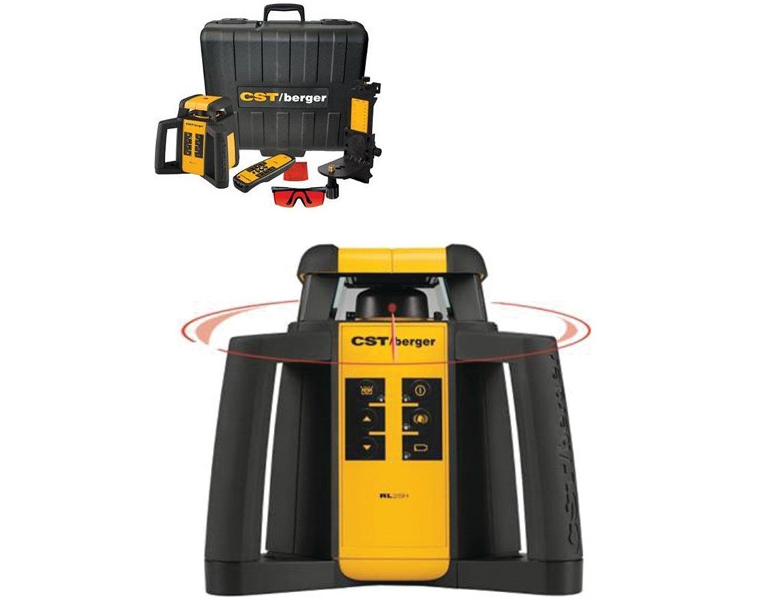 CST/Berger Electronic Self-Leveling Laser with Plumb Beam RL25HV
