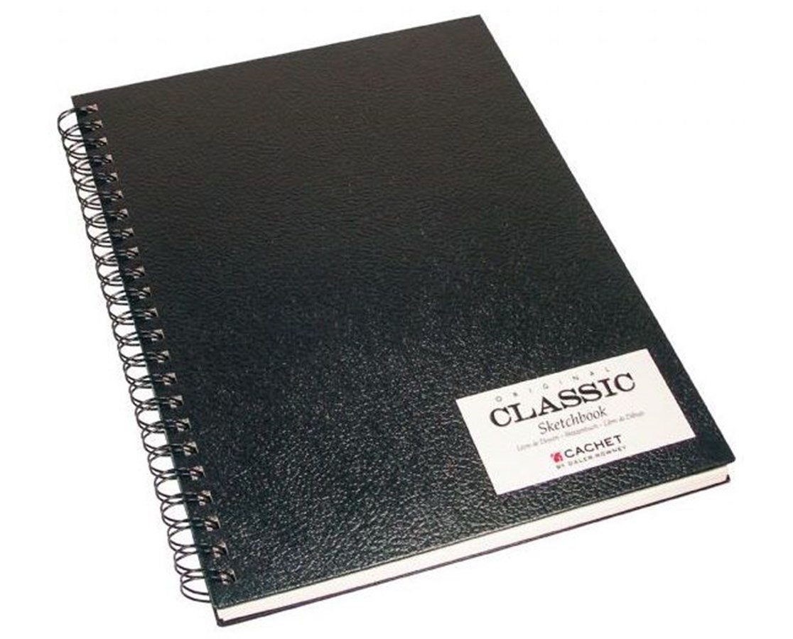 CLASSIC BLACK WIREBOUND SKETCH BOOK CSW10211
