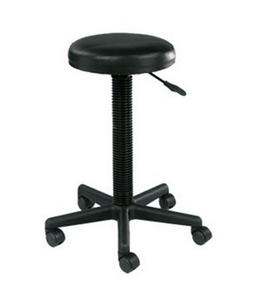 Alvin Gas Lift Stool Black DC209
