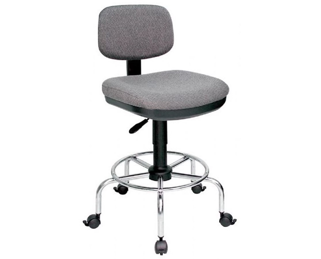 American-Style Draftsamn's Chair  - Standard Charcoal DC888-34