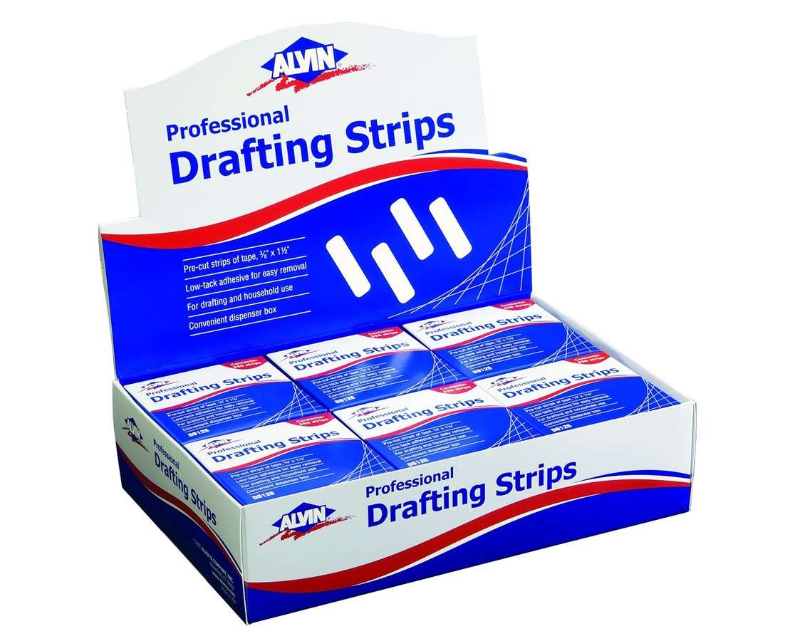 ALVIN DRAFTING STRIPS-500/ROLL DS125