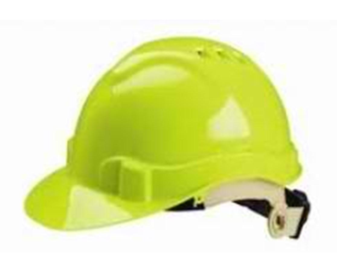 Eastern Metal Serpent Ratchet Adjusting Ventilated Hard Hat EAS71215-