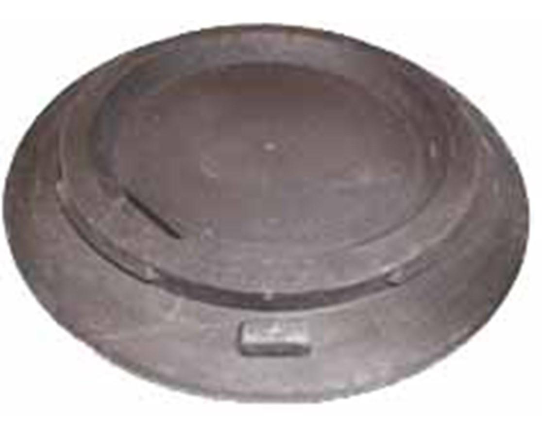 Eastern Metal Traffic Drum Molded Rubber Base EASHTB-025-