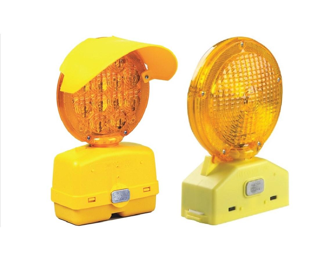 Eastern Metal 800 Series 3-Volt Hi-Intensity LED Barricade Light EASLED-803F-AMB