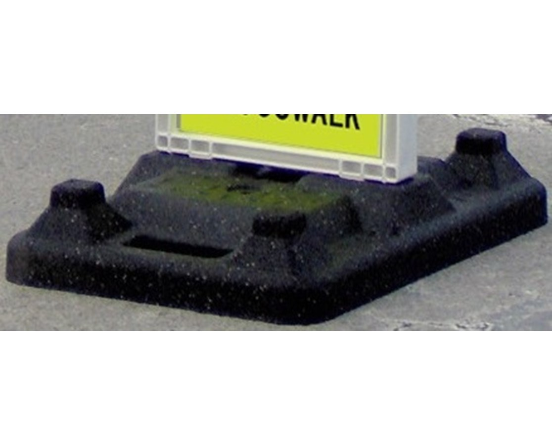 Eastern Metal 32-Pound Replacement Base for Crosswalk Signs EASVP-6532-BASE