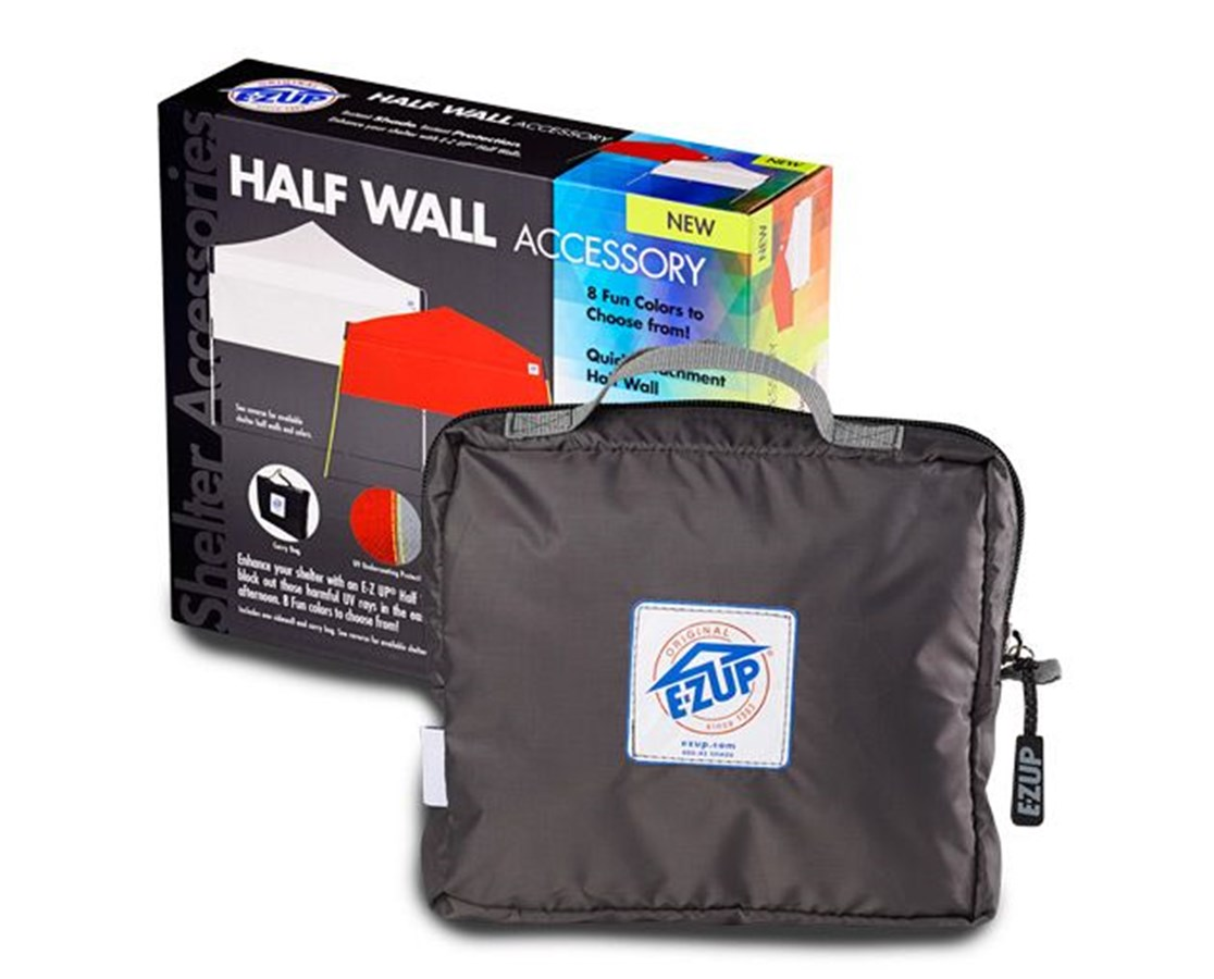 The E-Z UP Half Wall For Angle Leg EZUHW3PN8SALGY-