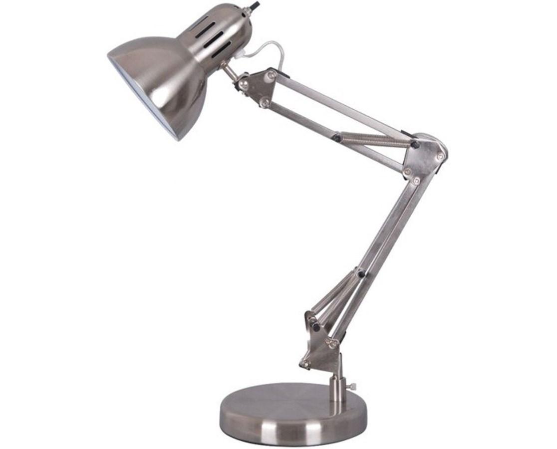 Architect Lamp Satin Steel  60 W Bulb FD206ST
