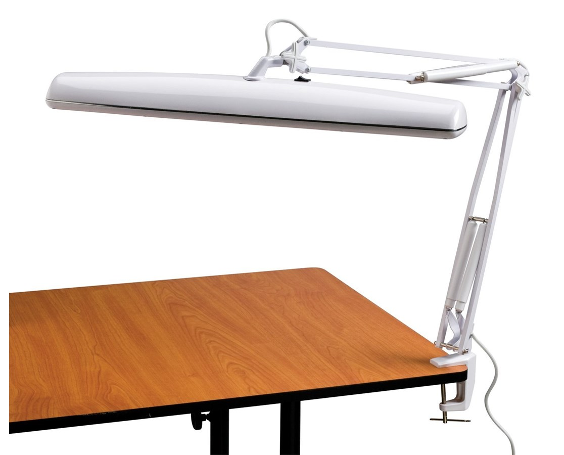 Fluorescent Swing-arm Task Light FL645