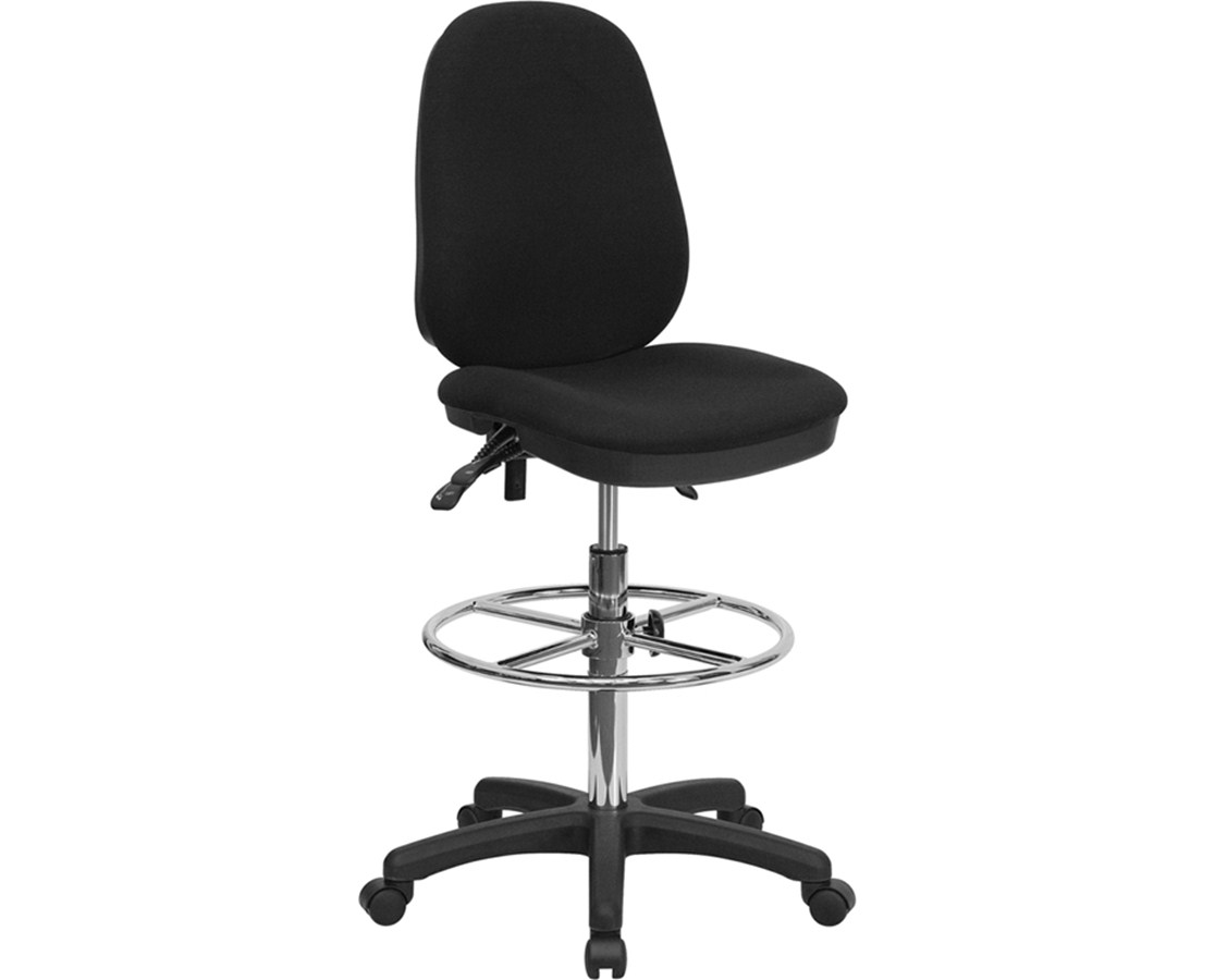 Flash Furniture Drafting Chair KC-B802M1KG-GG