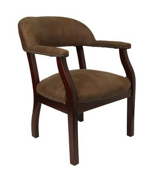 Bomber Jacket Brown Luxurious Conference Chair [B-Z105-BRN-GG] FLFB-Z105-BRN-GG