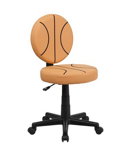 Basketball Task Chair [BT-6178-BASKET-GG] FLFBT-6178-BASKET-GG