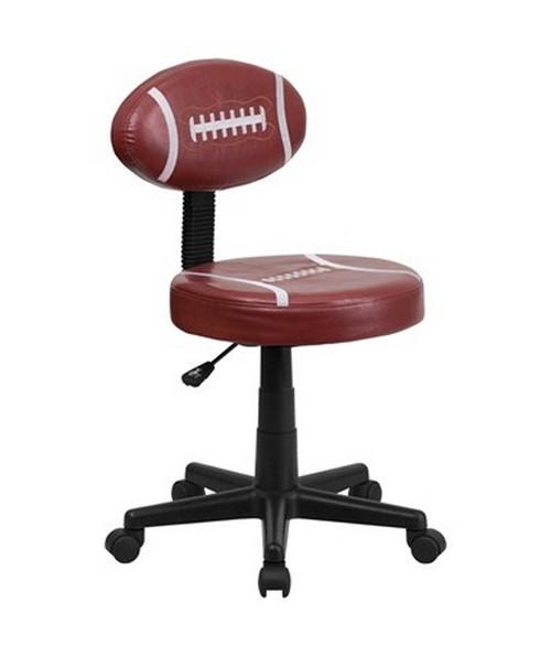Football Task Chair [BT-6181-FOOT-GG] FLFBT-6181-FOOT-GG