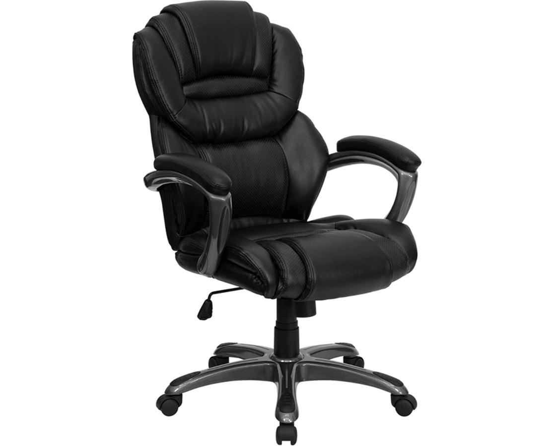 Flash Furniture High Back Executive Office Chair GO-901-BK-GG - Flash Furniture High Back Executive Office Chair GO-901-BK-GG