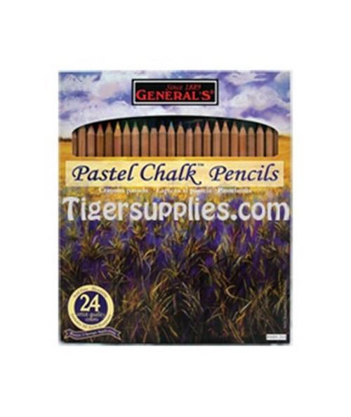 PASTEL CHALK PENCIL SET/24 G4400-24