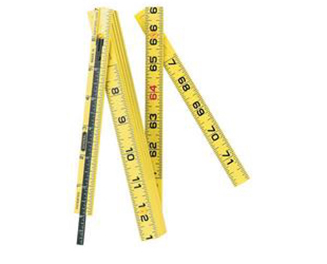 GENERAL® Fiberglass Folding Ruler G7200