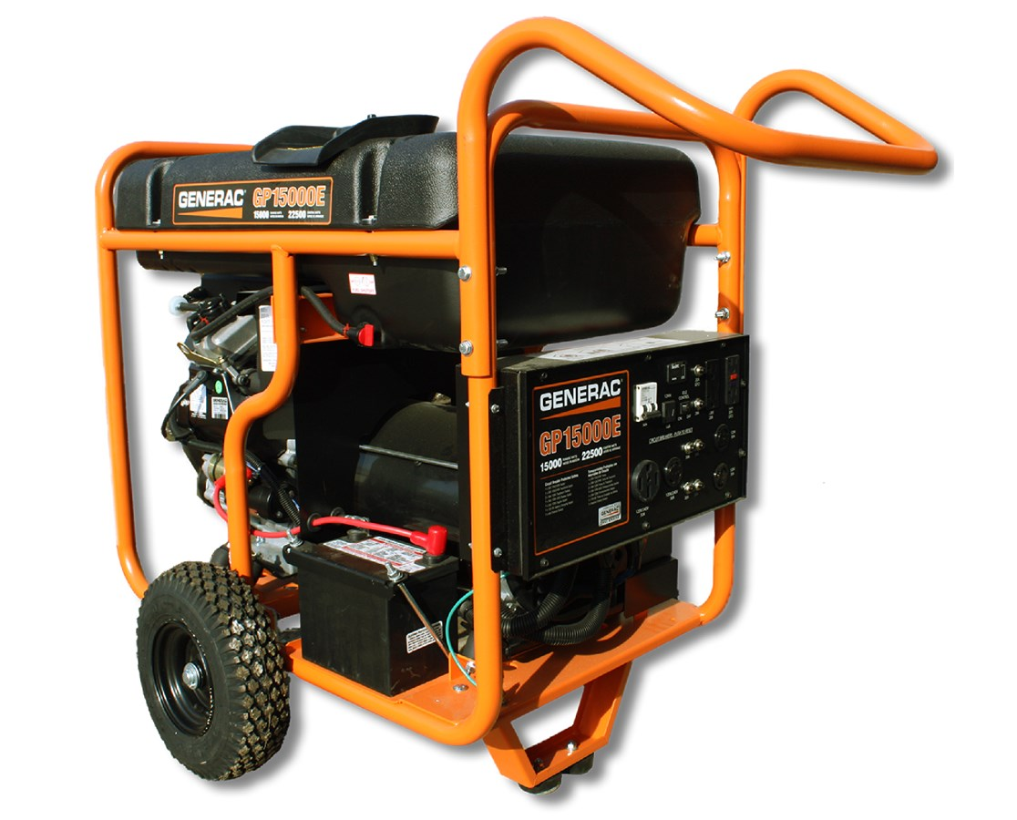 Generac GP15000E Portable Generator
