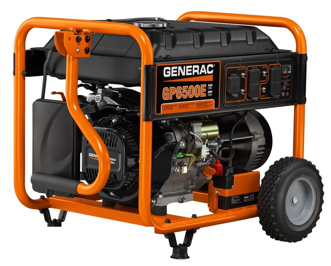 Generac GP6500E Portable Generator