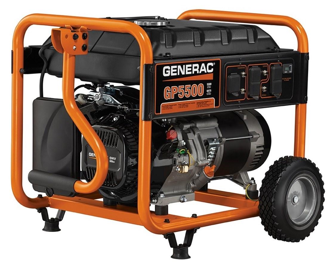 Generac GP5500 Portable Generator