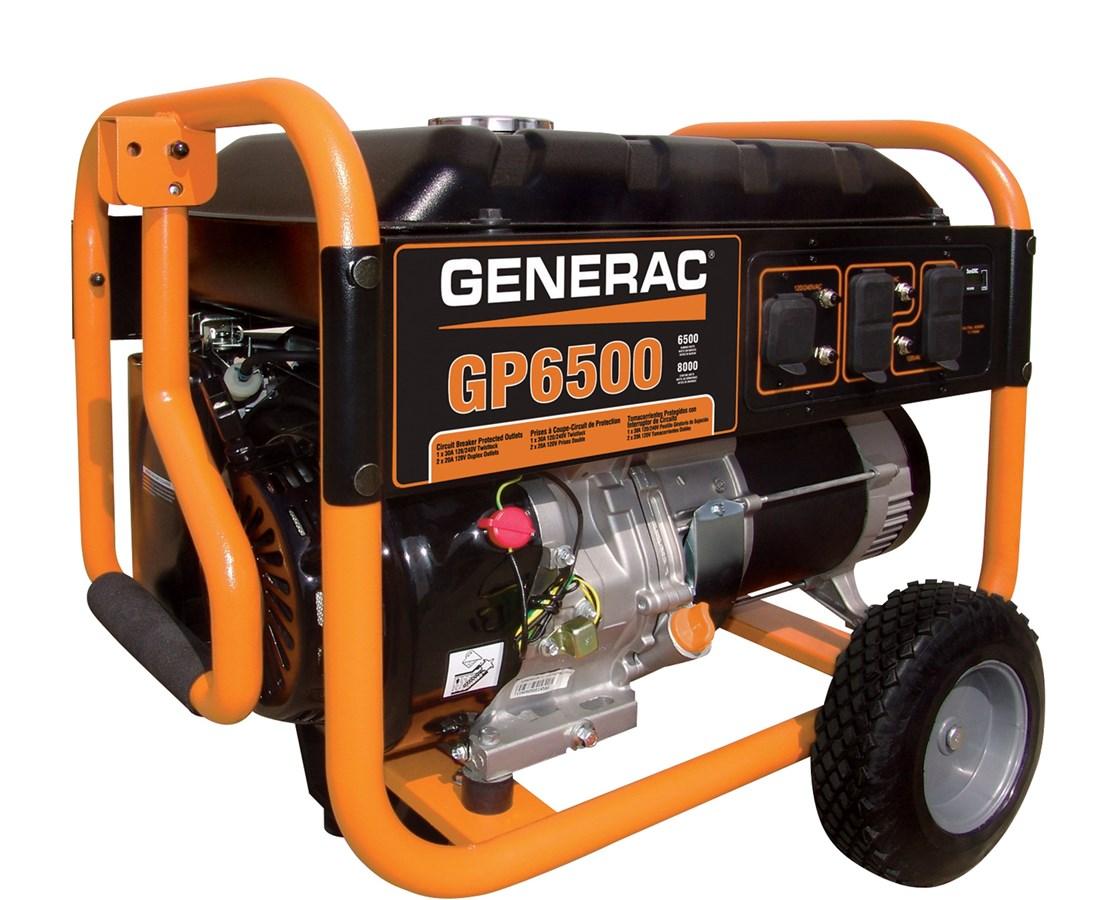 Generac GP6500 Portable Generator