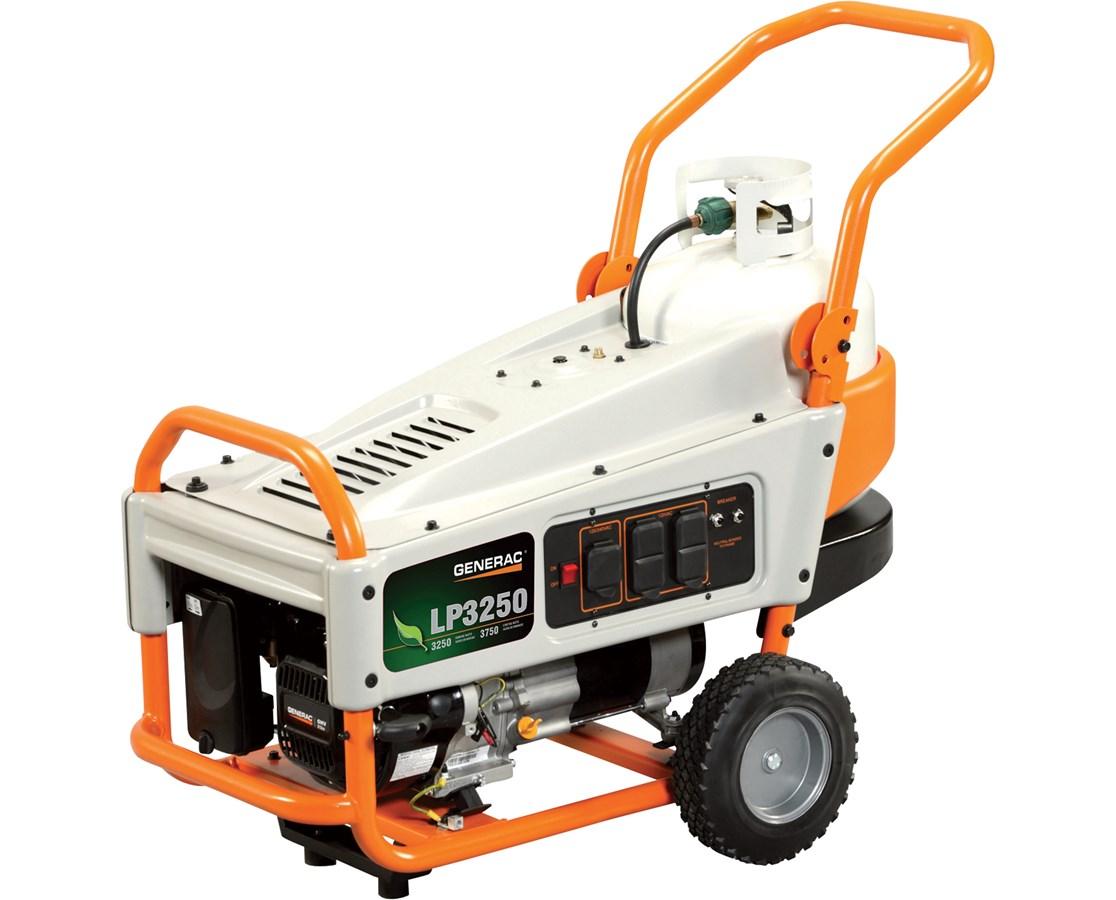 Portable Generator Noise Suppression : Generac lp portable generator tiger supplies