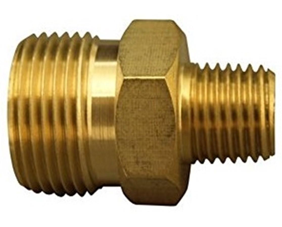 Generac Male Metric x 3/8 inch MPT Adapter GEN6624