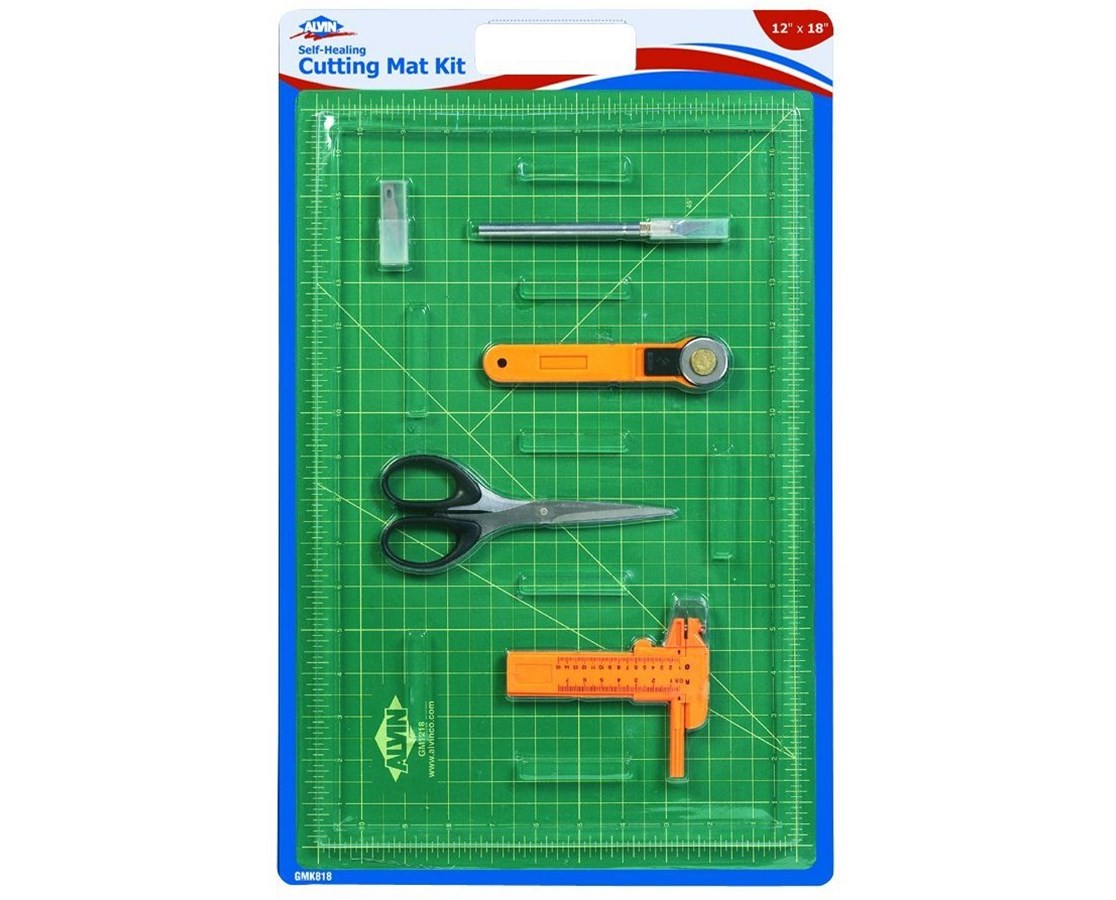 Self-Healing Cutting Mat Kits With Art Knife and Spare Blades GM06680