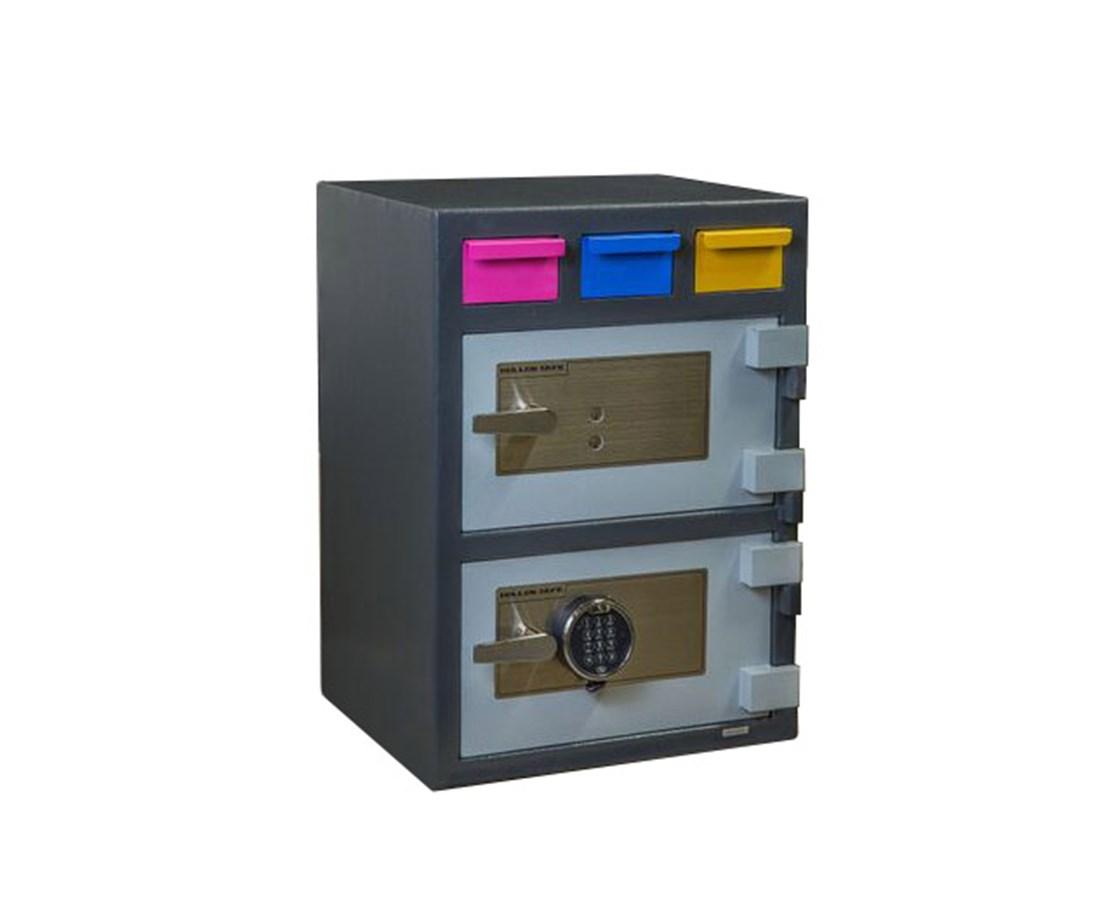 3D-2820MM-KE Hollon Key Lock Double Door Triple Drop Safe