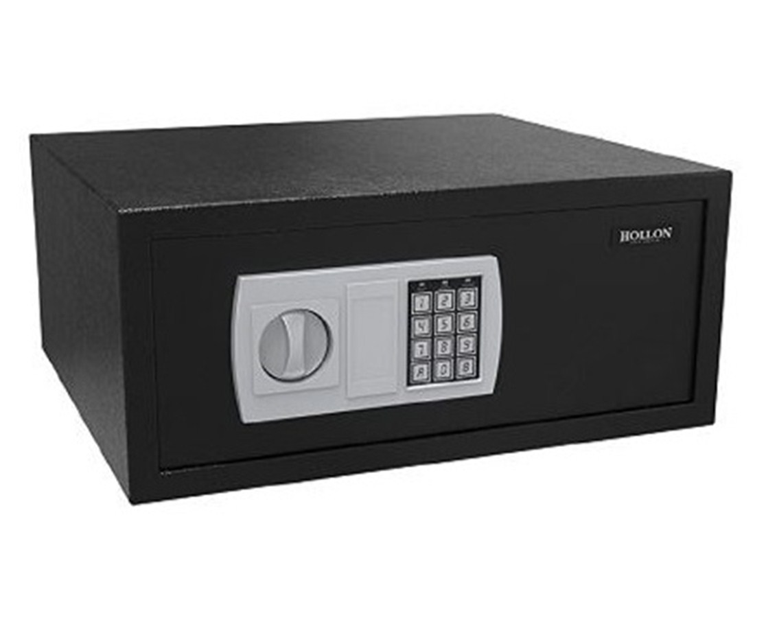 Hollon 1.13 Cubic Feet Hotel Safe with Electronic Lock ES-2046