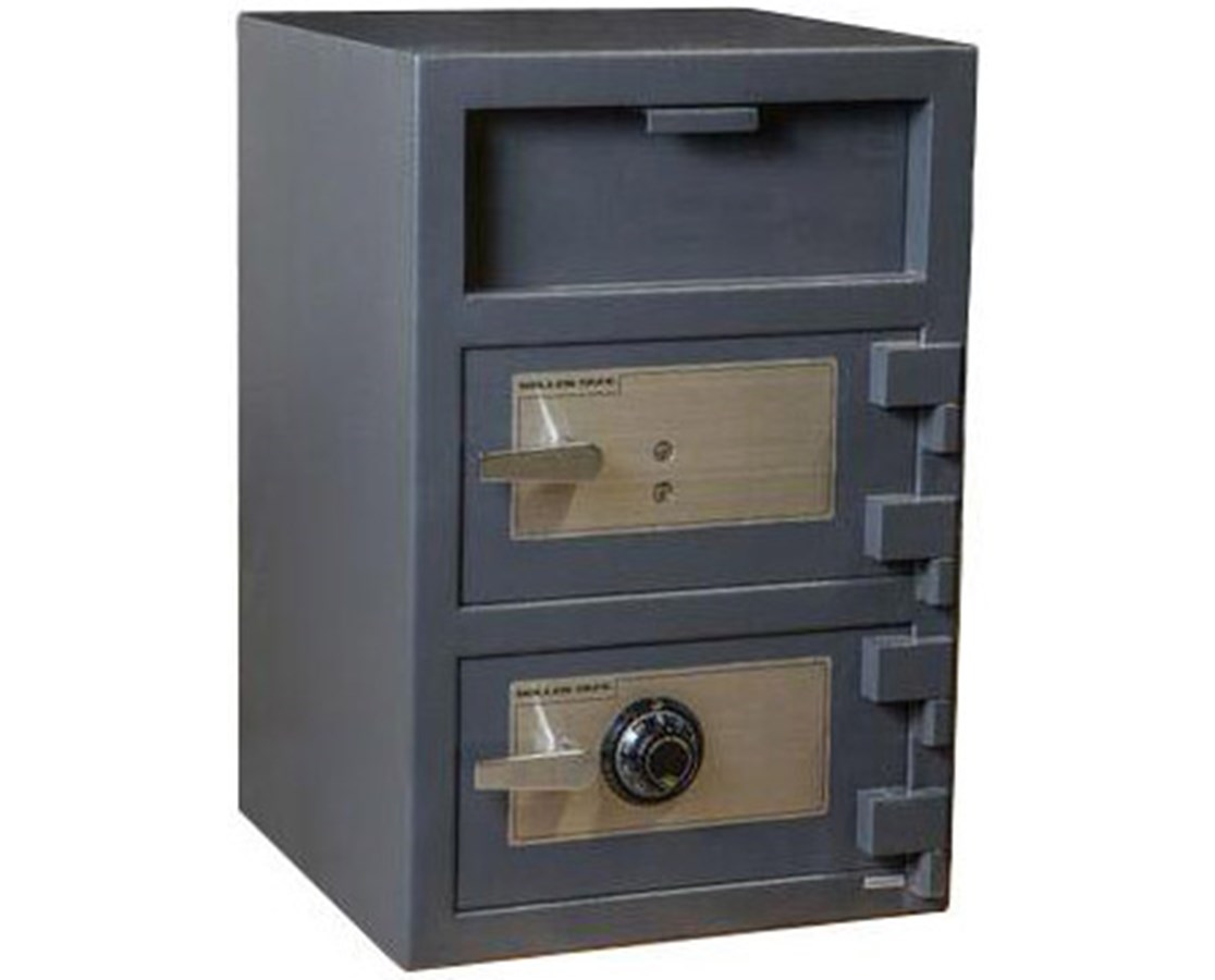 FDD-3020EE Hollon Double Door 3.6 Cu Ft B-Rated Depository Safe