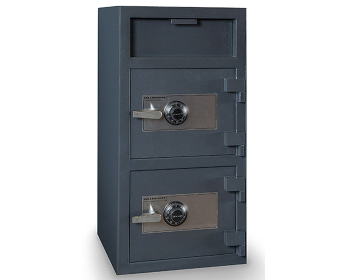 FDD-4020EE Hollon 4.8 Cu Ft Double Door B-Rated Depository Safe