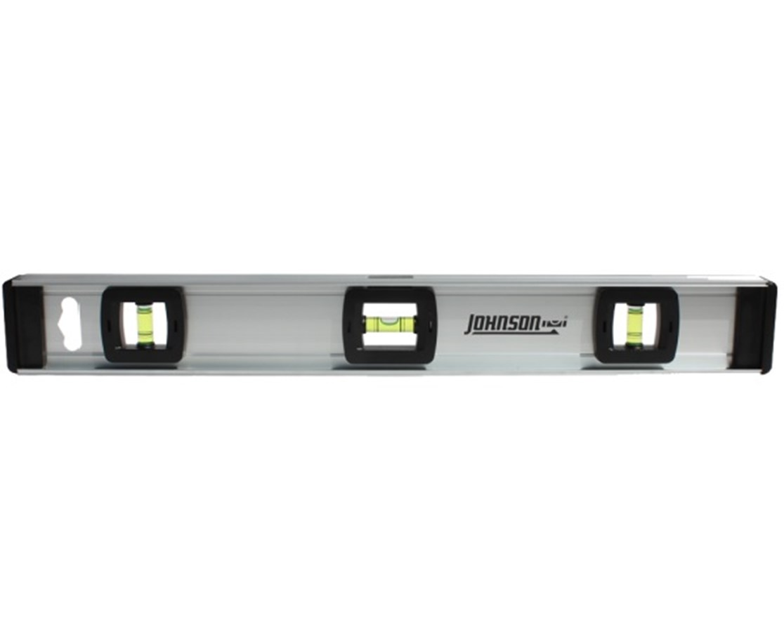 Johnson 18 Inch Aluminum Level with Rule JOH-1300-1800