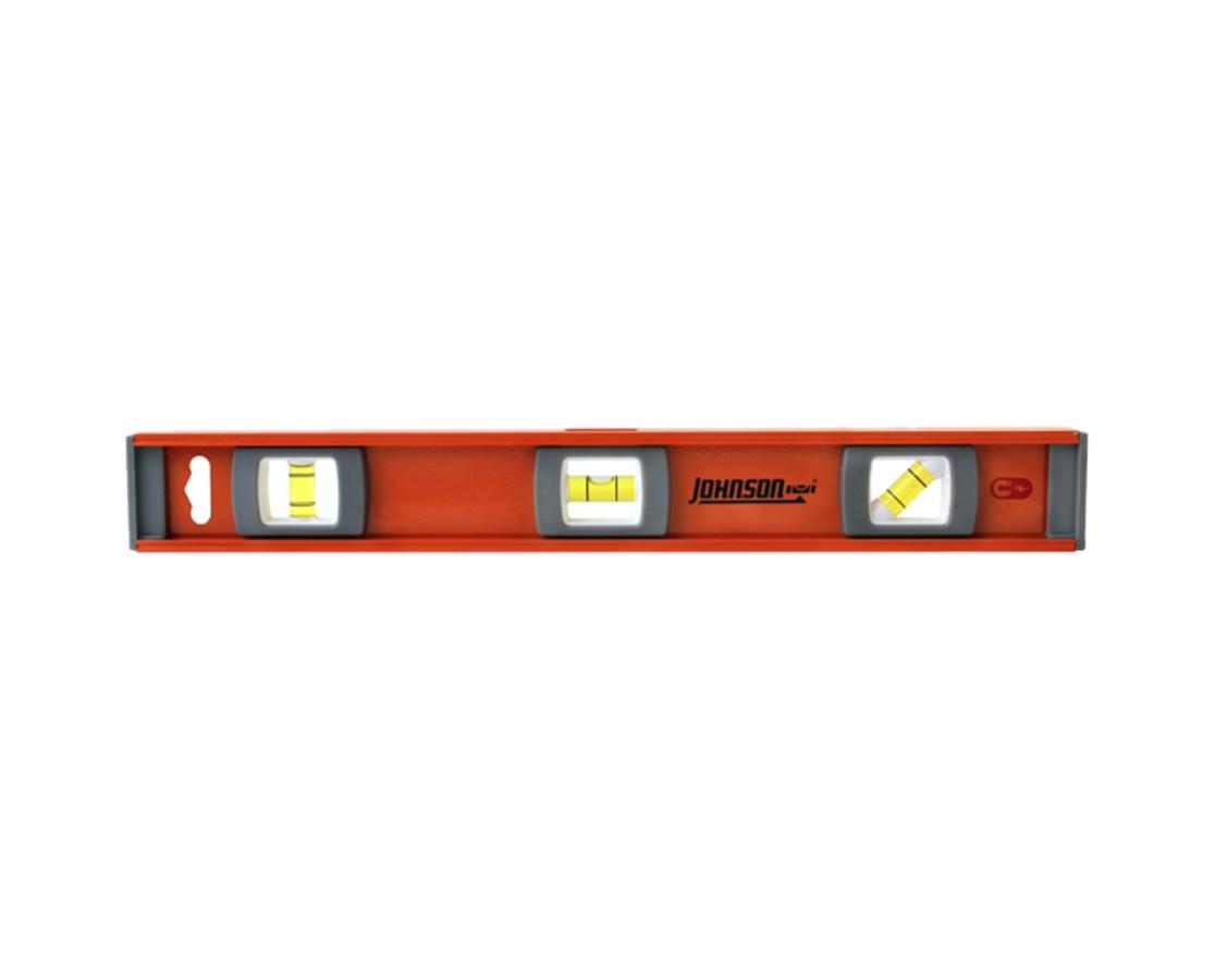 Johnson Level Magnetic Big J Pro Heavy Duty I-Beam Aluminum Level JOH1254-1800-