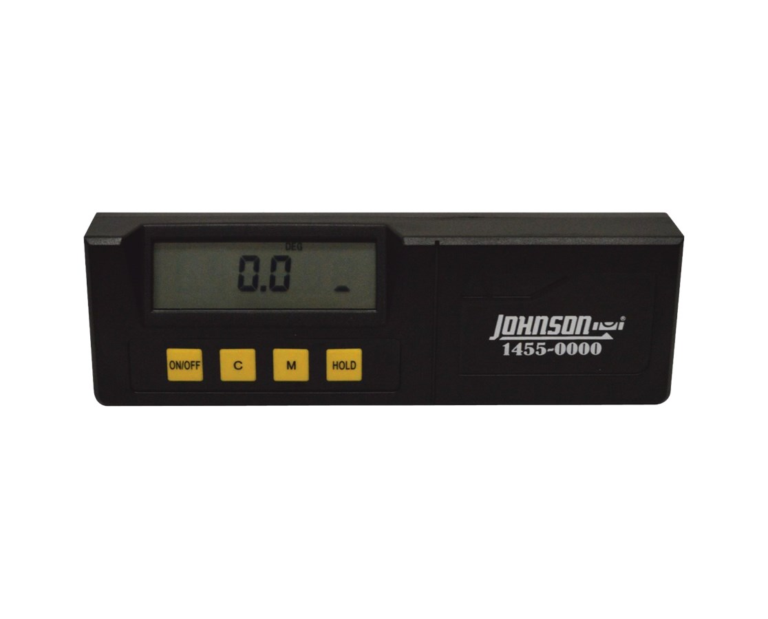 Johnson 6.5-Inch Digital Angle Level 1455-0000