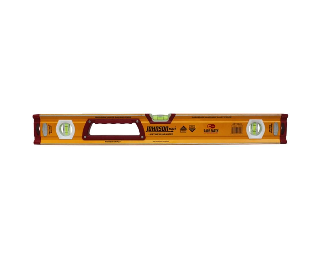 Johnson Level Magnetic Heavy Duty Aluminum Box Level JOH1718-2400-
