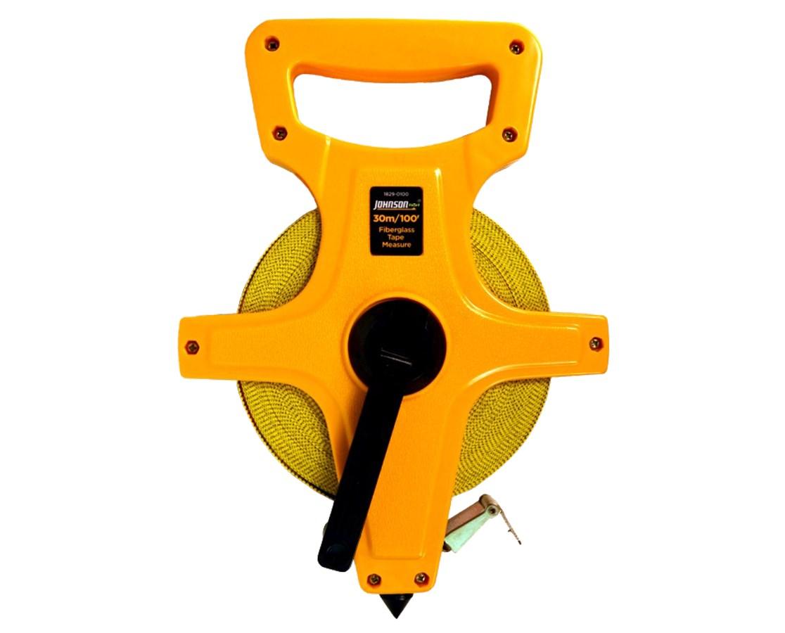 Johnson Level Metric/Inch Fiberglass Long Tape JOH1829-0100-
